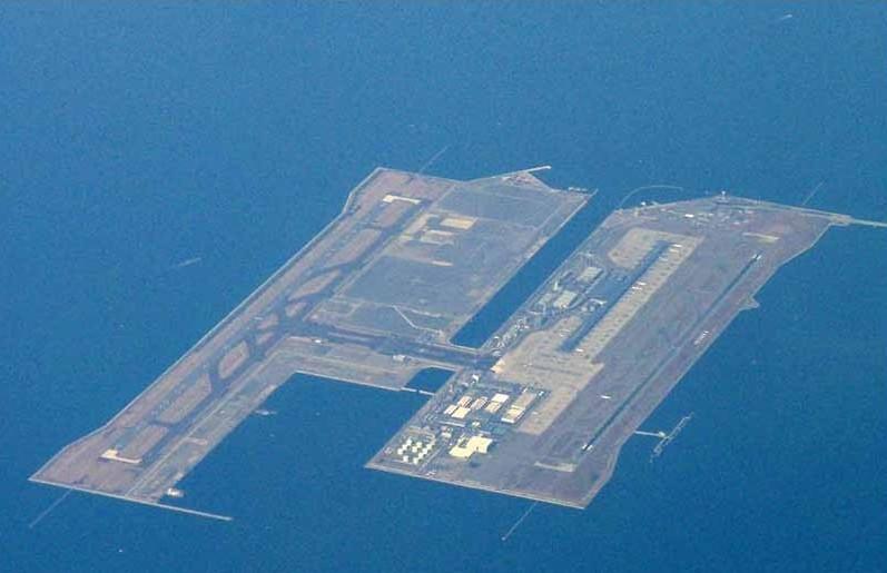 Аэропорт Кансай города Осака (Япония)