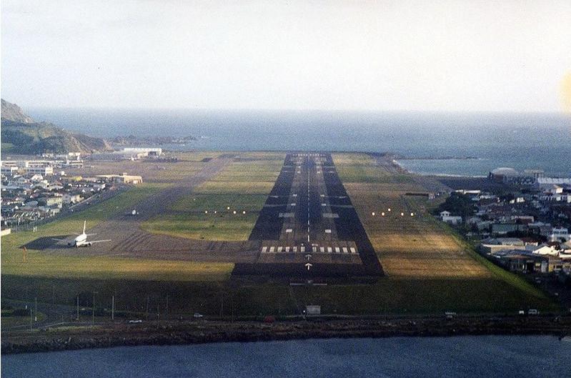 Аэропорт Веллингтона в Новой Зеландии