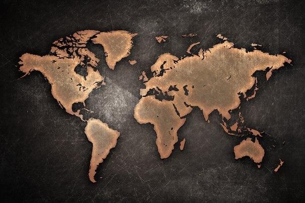 Почему части света получили именно такие названия?