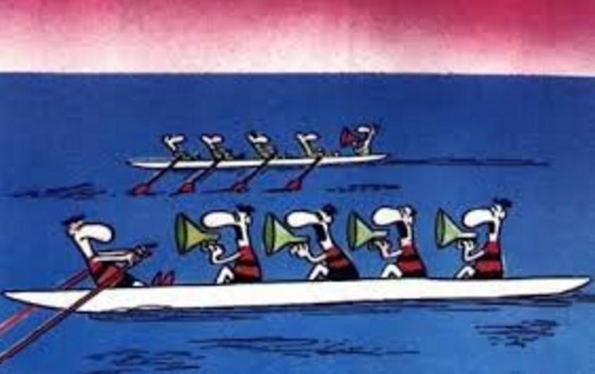 Соревнование по гребле